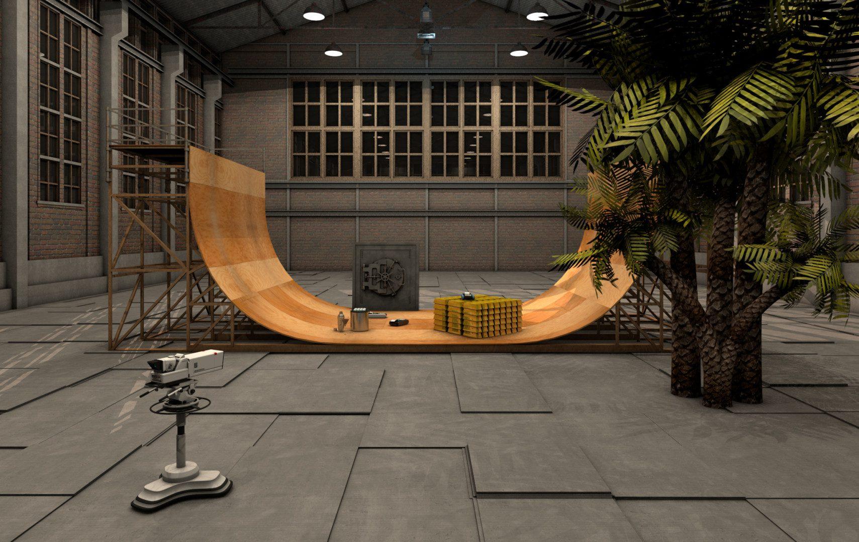 Scene 10 - Skater